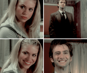 bad wolf, billie piper, and david tennant image