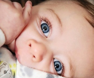 baby, blue eyes, and cute image