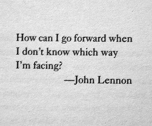 quotes, john lennon, and life image