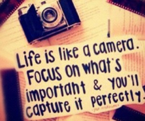 camera, important, and life image