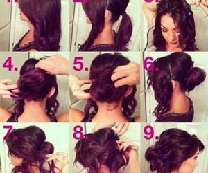 beauty, hair do, and hairstyle image
