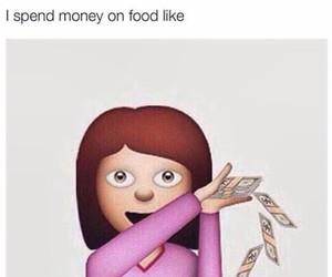 money, food, and emoji image