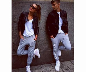 couple, style, and love image