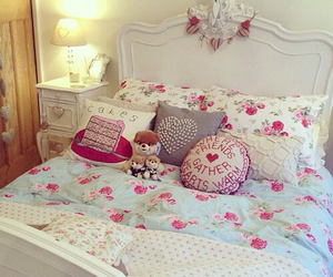 cute, bedroom, and room image