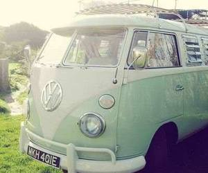 car, hippie, and vintage image