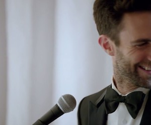 smile, perfect, and adam levine image