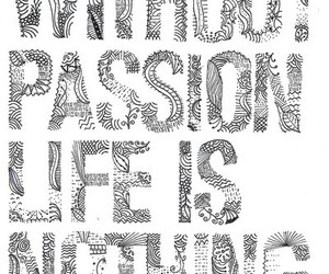 passion, life, and nothing image