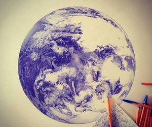 art, draw, and world image