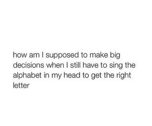 funny, alphabet, and true image