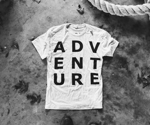 adventure, alternative, and black and white image