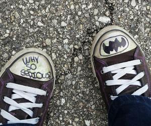 batman, grunge, and joker image