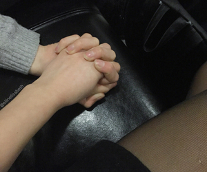 hands, pale, and love image