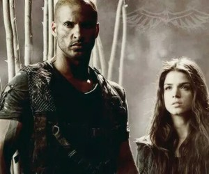 the 100, lincoln, and octavia blake image