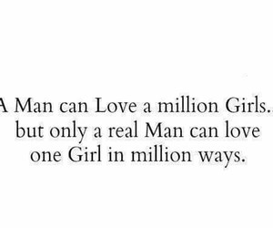 love, quote, and man image