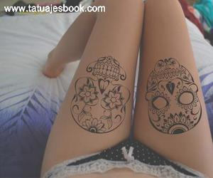 tatto girl image