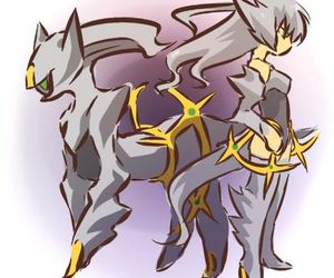 pokemon and arceus image