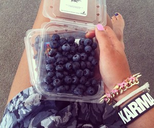 fashion, fruit, and summer image