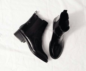 boots and black image