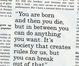 born, rules, and society image