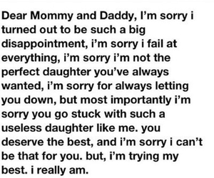 sad, dad, and mom image