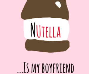 boyfriend, kiss you, and nutella image
