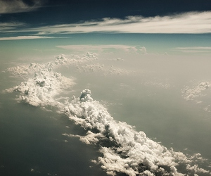 clouds, sky, and cool image