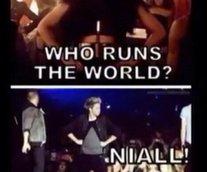 one direction, niall horan, and beyoncé image