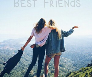 best friends, fashion, and forever image