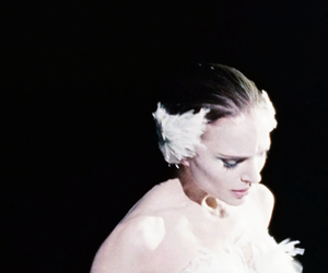ballerina, black swan, and fave image