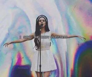 lana del rey and body electric image