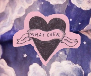 whatever, heart, and quote image