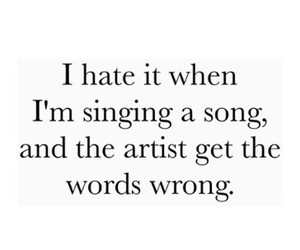 singing and song image