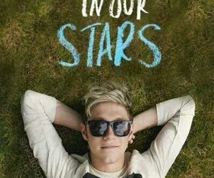 niall horan, one direction, and the fault in our stars image