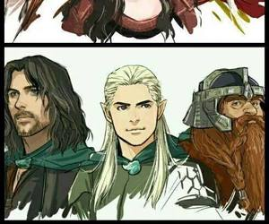 dessin and lord of the rings image