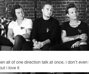 tumblr, 1d, and text post image