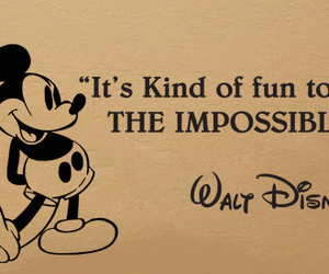 quotes, disney, and walt disney image