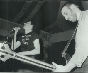 ian curtis, joy division, and peter hook image