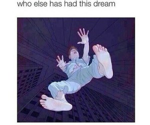 Dream, falling, and forever image