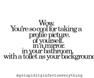 text, bathroom, and funny image