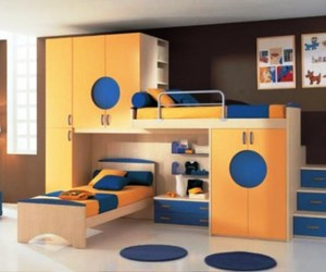 bunk beds with stairs, kids bunk beds, and bunk bed desk image