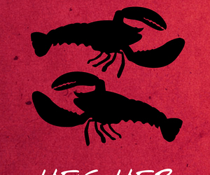 friends, lobster, and wallpaper image