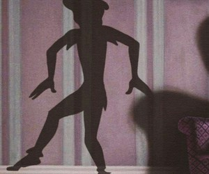 peter pan, disney, and ombre image