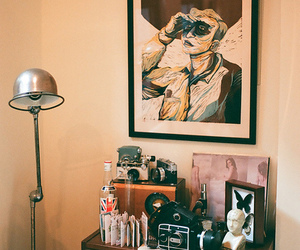 vintage and room image