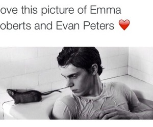 emma roberts, evan peters, and ahs image