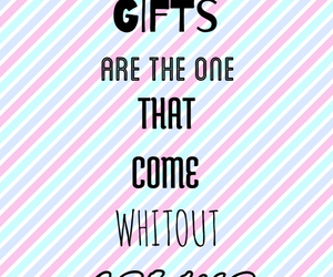 gift, inspiration, and words image