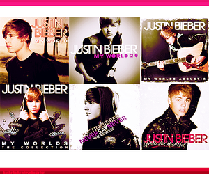 album, cd, and justin bieber image