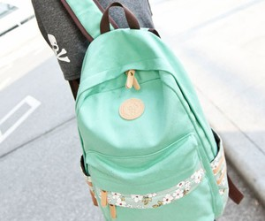 floral, fresh, and print canvas backpacks image