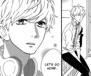 manga, shoujo, and hirunaka no ryuusei image