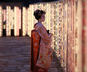japan and geisha image