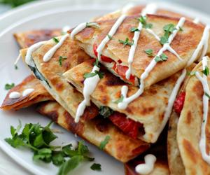 mozzarella, pizza, and tortilla image